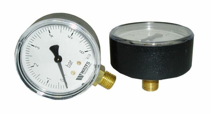 Manometer 0- 10 Bar  zadný 1/4""