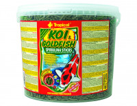 TROPICAL-POND Koi-Goldfish Spirulina sticks 11L/900g