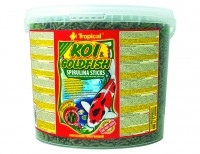 TROPICAL-POND Koi-Goldfish Spirulina sticks 5L/430g